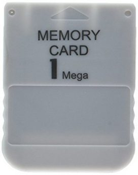ps one memory card 1mb