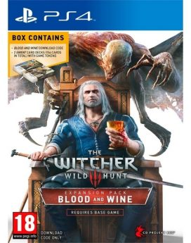 The-Witcher-3-Wild-Hunt-Blood-and-Wine-EXPANSION-Pack--2-GWENT-CARDS-DOWNLOAD-PS